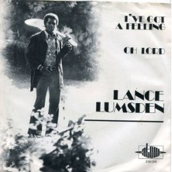 Lumsden ‎Lance – I&8217ve Got A Feeling|1972 Atom – 238 026