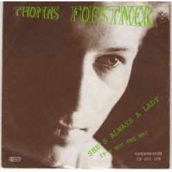 Forstner Thomas – She&8217s Always A Lady 1987     Cobus – CS 201 108
