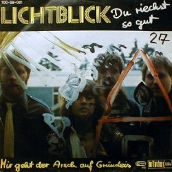 Lichtblick – Du Riechst So Gut 1982 Bacillus Records – 100-09-001