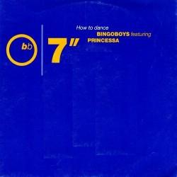 Bingoboys Featuring Princessa – How To Dance|1991      7567-87756-7, Atlantic – A 7756