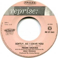 Sinatra Frank – Softly, As...