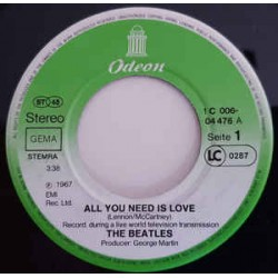 Beatles The ‎– All You Need...