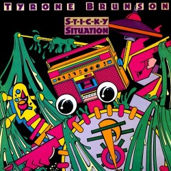 Tyrone Brunson ‎– Sticky Situation|1983 Epic EPC 25291