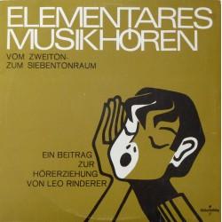 Leo Rinderer – Elementares...