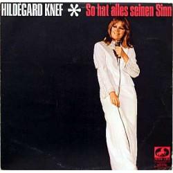 Hildegard Knef – So Hat...