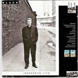 Black – Wonderful Life|1987 A&M Records 395165-1