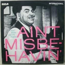 "Waller ""Fats""and His Rhythm  – Ain't Misbehavin' 1970      RCA – INTS 1071"