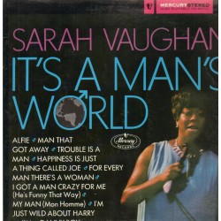 Vaughan Sarah ‎– It&8217s A Man&8217s World|1967 Mercury ‎– 134 055 MCY