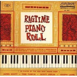 "Various ‎– Ragtime Piano Roll|1954    London Records ‎– AL 3515- 10""Record- Mono"