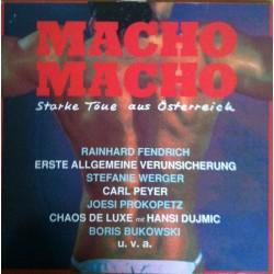 Various – Macho Macho &8211 Starke Töne Aus Österreich|1988         Ariola209 346