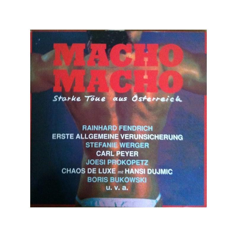 Various – Macho Macho &8211 Starke Töne Aus Österreich 1988         Ariola209 346