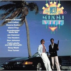 Various – The Best Of Miami Vice|1989     MCA Records241 746-1