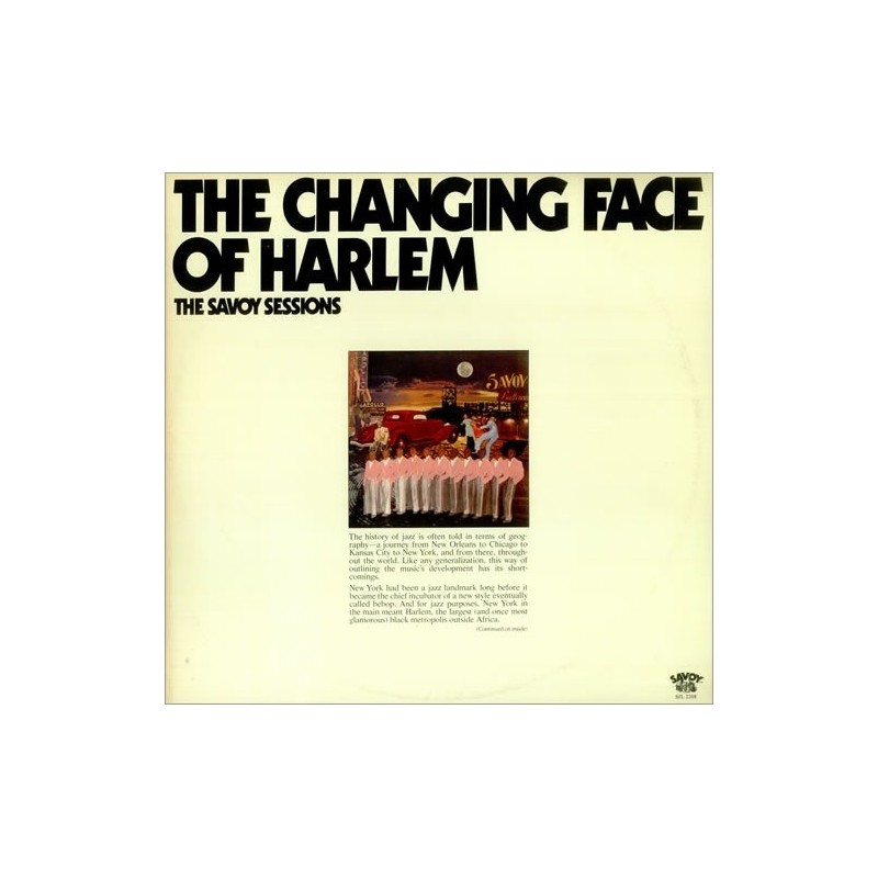 Various – The Changing Face Of Harlem|1976    Savoy Records – SJL 2208