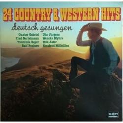 Various – 24 Country & Western Hits &8211 Deutsch Gesungen|1980 SR International – 30 939 3