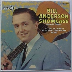 Anderson Bill – Bill Anderson Showcase|1964 Decca DL 74600