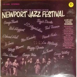 Various ‎– Great Moments In Jazz Re-Created At The Newport Jazz Festival|1965 RCA Victor ‎– LSP-3369