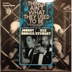 Hodges /Johnny Rex Stewart ‎– Things Ain&8217t What They Used To Be|1966 RCA Victor ‎– LPV-533