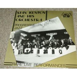 Kenton Stan and His Orchestra ‎– Progressive Jazz|1980 Swing House Records ‎– SWH-18