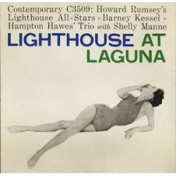 Rumsey's Howard Lighthouse All-Stars ‎– Lighthouse At Laguna|1956 Contemporary Records ‎– C 3509