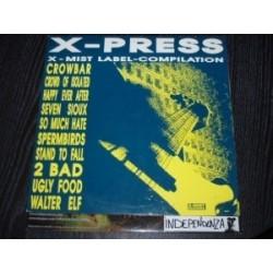 Various – X-Press|1990 X-Mist Records – XM 020