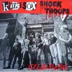 Kiezgesöx / Shock Troops – Ey! Die Platte!|1995       Vopo RecordsNr. 001