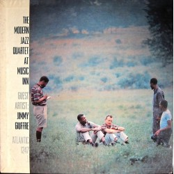 Modern Jazz Quartet The- Guest Artist: Jimmy Giuffre ‎– At Music Inn|1956 Atlantic 1247