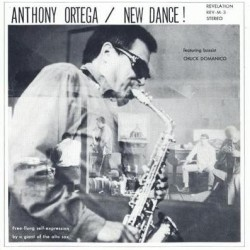 Ortega ‎Anthony – New Dance!|1967      Revelation Records REV-M-3