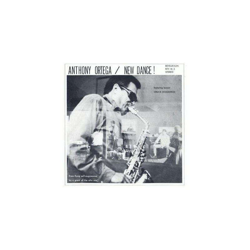 Ortega Anthony – New Dance!|1967 Revelation Records REV-M-3
