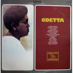 Odetta ‎– Odetta|1973 Archive Of Folk & Jazz Music ‎– FS 273