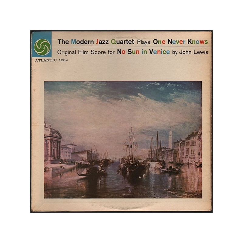 Modern Jazz Quartet The ‎–Plays One Never Knows  |1958   Atlantic	1284