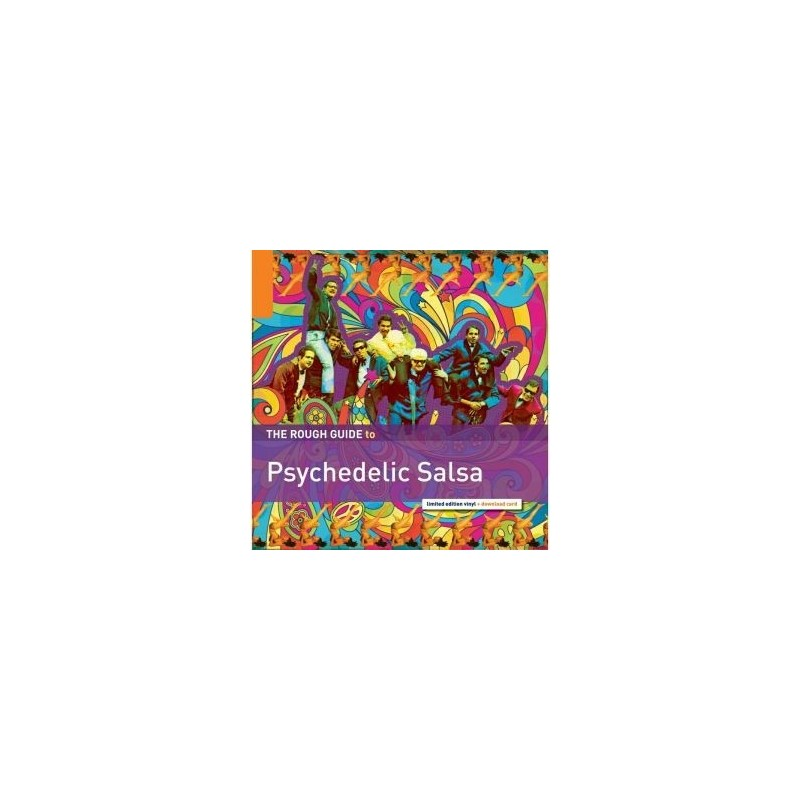 Various ‎– The Rough Guide To Psychedelic Salsa|2015 RGNET1304LP