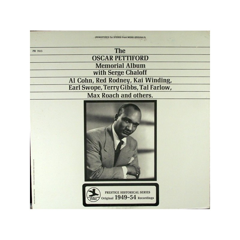 Pettiford ‎Oscar – The Oscar Pettiford Memorial Album|Prestige ‎– PR 7813