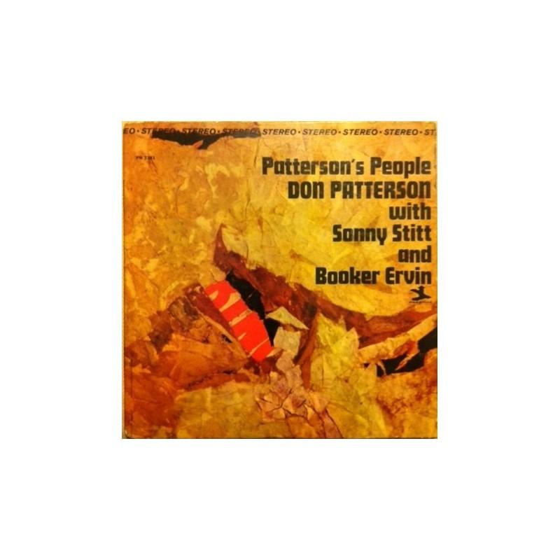 Patterson Don with Sonny Stitt And Booker Ervin – Patterson&8217s People|1965     Prestige – PR 7381