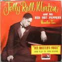 Morton Jelly Roll and His Red Hot Peppers and Trio ‎– Number Two|His Master&8217s Voice ‎– DLP 1044-10&8243 Record