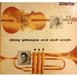 Gillespie Dizzy and Stuff Smith ‎– Dizzy Gillespie And Stuff Smith|1957 Verve Records ‎– MGV-8214