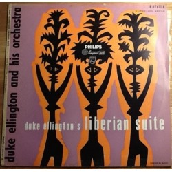 "Ellington Duke and His Orchestra ‎– Liberian Suite|Philips ‎– B 07.611 R - 10"", Mono"