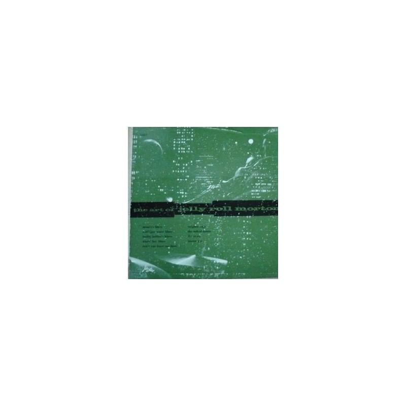 Morton Jelly Roll – The Art Of Jelly Roll Morton| Jazztone J-1012-  10&8243, Mono