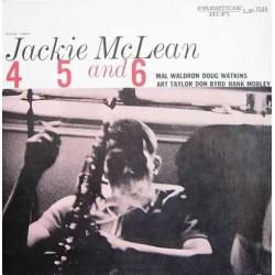 McLean Jackie – 4, 5 And 6|1956/1983     PrestigeOJC-056