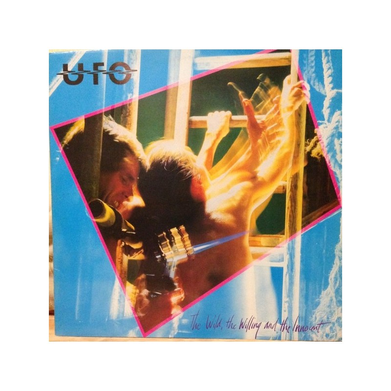 UFO – The Wild, The Willing And The Innocent|1981         Chrysalis203 002