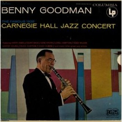 Goodman Benny  – The Famous 1938 Carnegie Hall Jazz Concert|1963     OSL-160 2 LP-Box