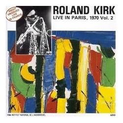 Kirk Roland – Live In Paris, 1970 Vol. 2|1988 France's Concert – FC 115