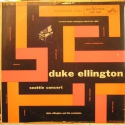 Ellington Duke & His Orchestra ‎– Seattle Concert|1954 RCA Victor ‎– LJM 1002-C