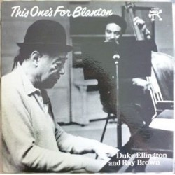 Ellington Duke/ Ray Brown ‎– This One&8217s For Blanton|1975 Pablo Records ‎– 2310 721