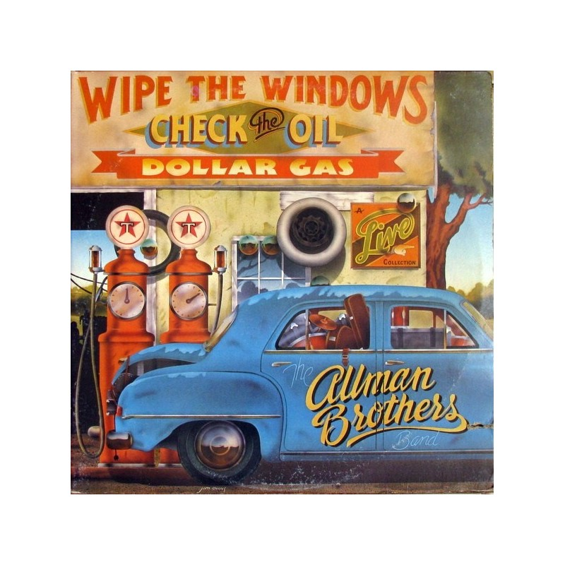 Allman Brothers Band The – Wipe The Windows, Check The Oil, Dollar Gas– |1976    Capricorn Records2637 103
