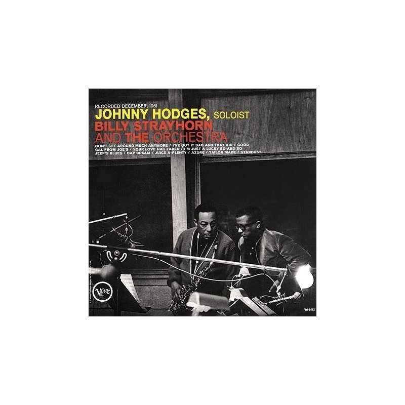 Hodges Johnny with Billy Strayhorn ‎– Johnny Hodges With Billy Strayhorn And The Orchestra|1962   SVLP 9009 V-8452 sealed