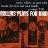 Rollins Sonny Quintet With Kenny Dorham And Max Roach – Rollins Plays For Bird|1956/1986         PrestigeOJC-214