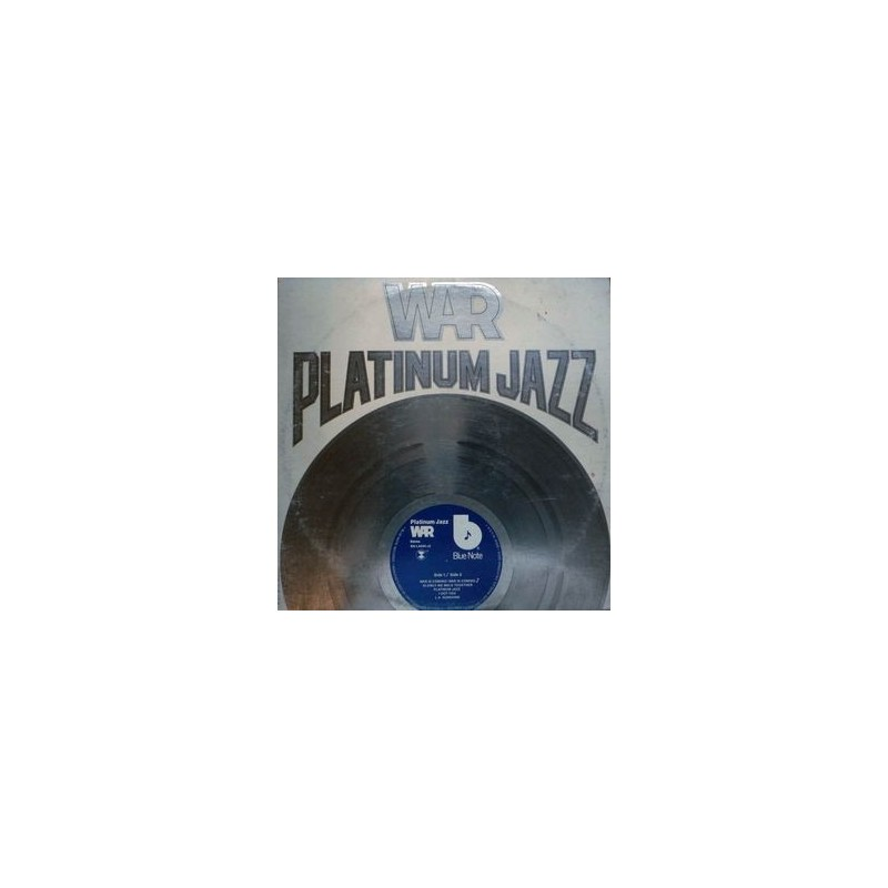 War ‎– Platinum Jazz|1977 Blue Note BN-LA690-J2