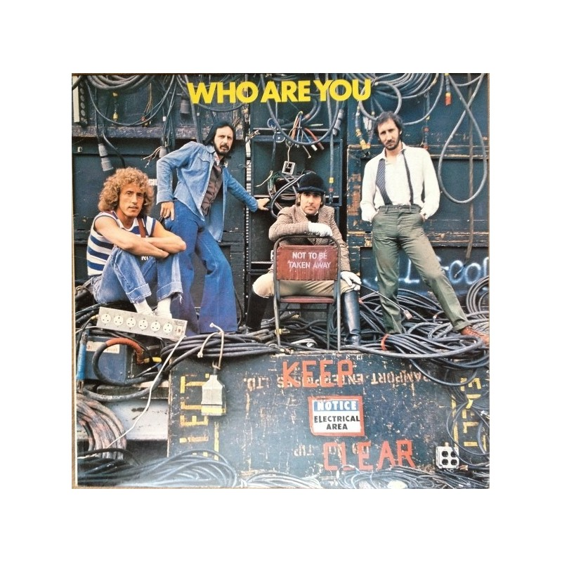 Who ‎The – Who Are You|1978 Polydor 2417 325