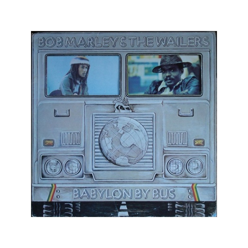 Marley Bob & The Wailers ‎– Babylon By Bus|1978 Island Records 300 152