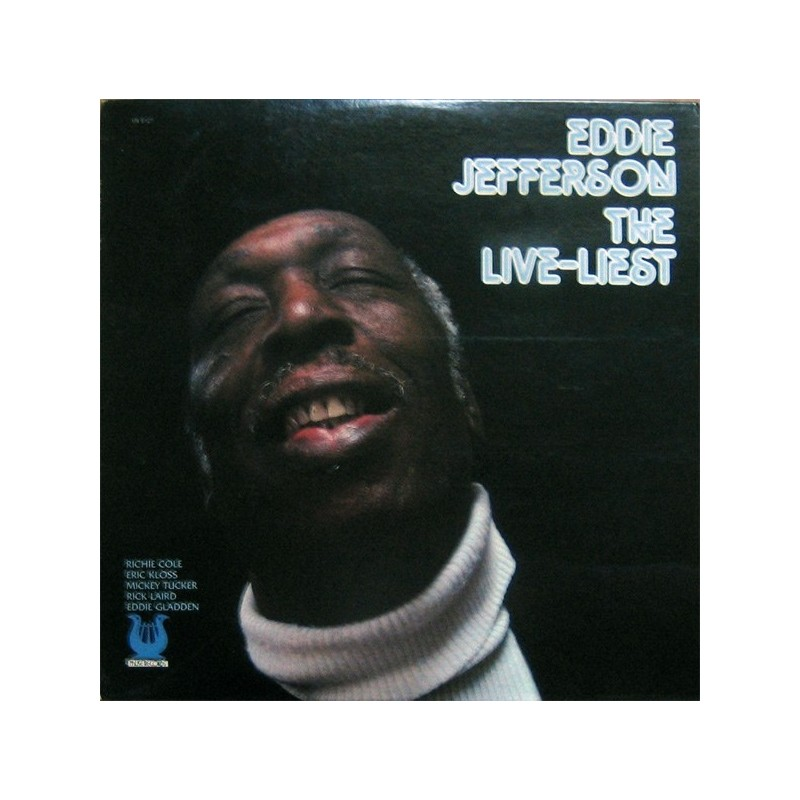 Jefferson ‎Eddie – The Live-Liest|1979 Muse Records MR 5127
